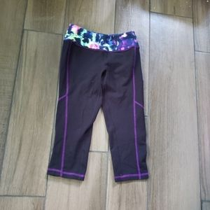 Material girl active cropped yoga workout pants xs